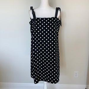 JCrew linen lined sundress